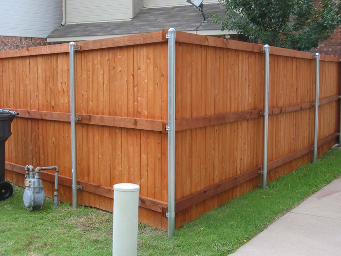 Fence Staining Allen Protek Painting